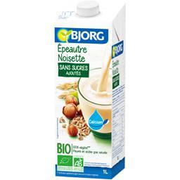 Bjorg Boisson épeautre noisette sans sucres ajoutés BIO