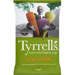 Chips Veg Crisps betterave panais et carotte au sel ...