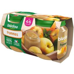 Dessert pommes, dès 4/6 mois