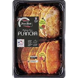 Plateau plancha porc provencale & basquaise