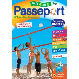 Passeport de la 4ème à la 3ème - nouveaux programmes