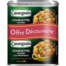 Cassegrain Courgettes cuisinées à la provençale