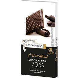 Chocolat noir 70% L'envoutant