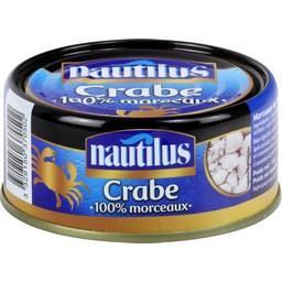 Nautilus Crabe 100% morceaux