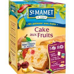 Kit pâtissier avec fruits pour cake aux fruits