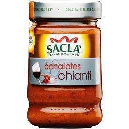 Sauce aux échalotes et Chianti