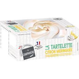 La Campanière La Tartelette citron meringuée la boite de 100 g
