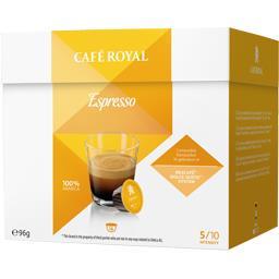 Capsules de café moulu Espresso