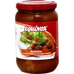 Boulettes en sauce tomate au fromage et basilic