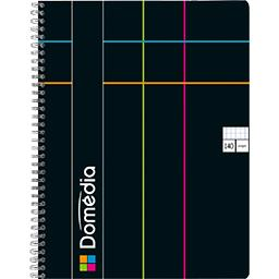 Cahier reliure intégrale 225x297 5x5 coloris assorti...