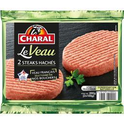 Steaks hachés pur veau