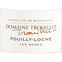 Pouilly-Loché Les Mûres - Domaine Trouillet vin Blan...