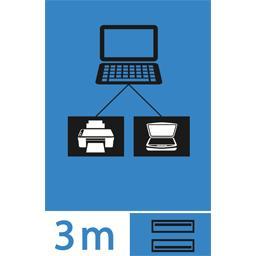 Rallonge USB 2,0 mâle A/femelle A