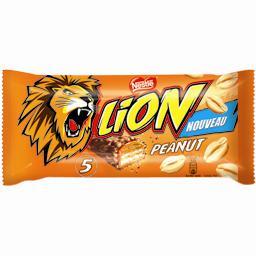 Lion - Barres chocolatées cacahuètes
