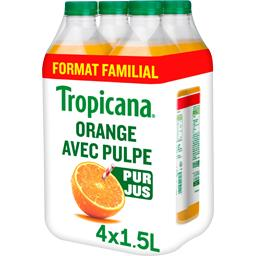 Pure Premium - Jus orange avec pulpe 100% pur jus