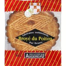 Broyé du Poitou, pur beurre, fabrication traditionnelle