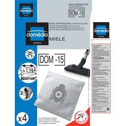 Sacs aspirateurs DOM-15 compatibles Miele