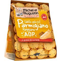 Sablés apéritif au Parmigiano Reggiano & graines de ...