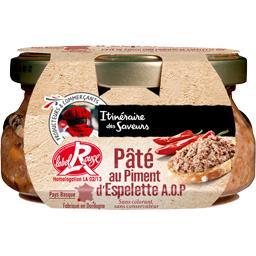 Pâté de porc au piment d'Espelette AOP Label Rouge
