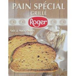 Pain spécial grillé, cuit à moule ouvert