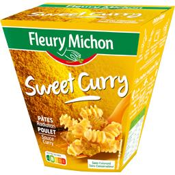 Pâtes Radiatori poulet Sweet Curry