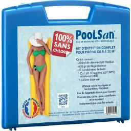 Kit complet désinfection 100% sans chlore piscines 5 à 20m³