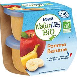 Pomme banane BIO, dès 4/6 mois