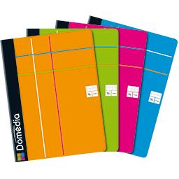 Cahier agrafe 240x320 96 pages, 90g seyes polyprop