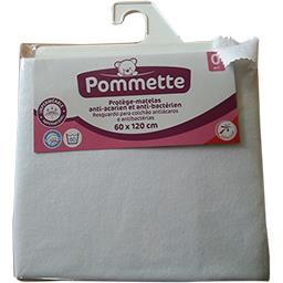 Protège-matelas anti-acarien & anti-bactérien 60x120...