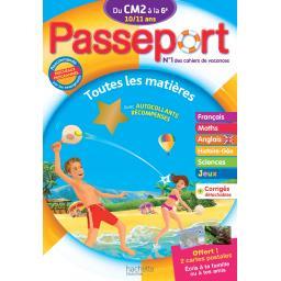 Passeport du cm 2 à la 6ème - 10/11 ans
