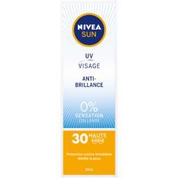 Sun - Crème UV visage anti-brillance FPS 30
