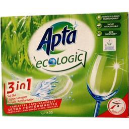 Tablettes lave-vaisselle tout en 1 écologique