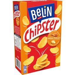 Belin Chipster - Biscuits apéritif saveur poulet le paquet de 75 g