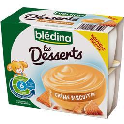 Desserts - Crème biscuitée, dès 6 mois