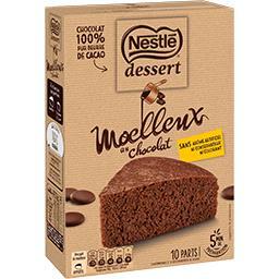 Dessert - Préparation Moelleux au chocolat