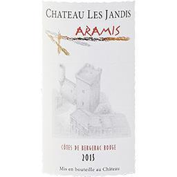 Côtes de Bergerac Château Les Jandis - Elevé en Fûts de chêne vin Rouge 2015