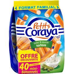 Coraya Coraya Petits Coraya - Surimi avec sauces tartares