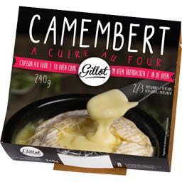 Camembert à cuire au four sans gluten