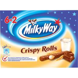 Barres chocolatées Crispy Rolls