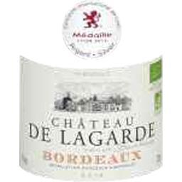 Bordeaux vin rouge Château Lagarde BIO
