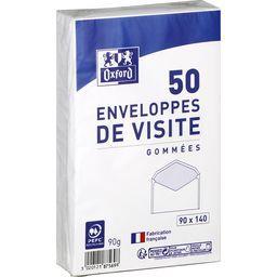 Enveloppe 90x140 gommee de visite