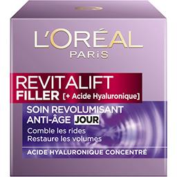 L'Oréal Revitalift Filler [HA] - Soin revolumisant anti-âge ...