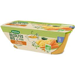 Les Récoltes BIO - Couscous aux légumes BIO, dès 12 mois