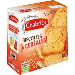 Biscottes 6 céréales