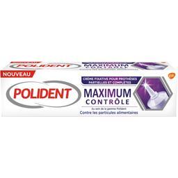 Crème fixatrice prothèses Maximum contrôle