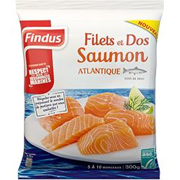 Filets et dos saumon Atlantique