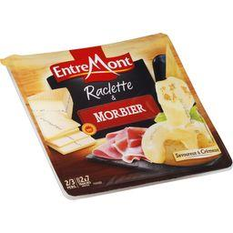 Fromage raclette nature & Morbier