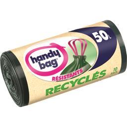 Sacs poubelle recyclés 50 l