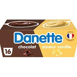 Danette - Crème dessert saveur vanille/chocolat