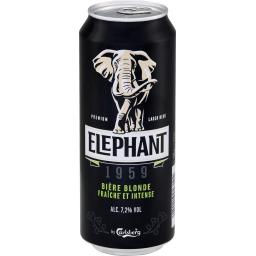 Elephant by Carlsberg Bière blonde 1959 la boite de 50 cl